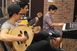 Die Instrumentalisten des Chor