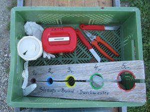 Gärtnerei-Werkzeug-Kiste