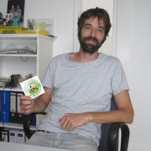Simon Scholl, einer der Gründer des Kartoffelkombinat eG