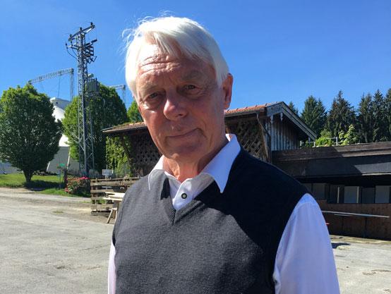 Klaus Oberfeld vom Pferdeschutzhof Gut Immling e.V.