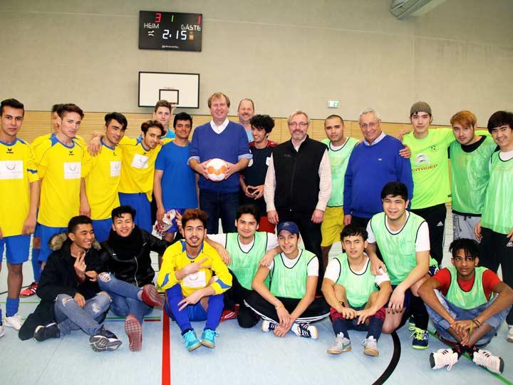 Fussball ohne Grenzen - Turnier in Miesbach